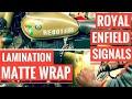 Royal Enfield Signals 350 - Matte Wrap