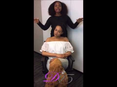 Festival Styles on Type 4 Hair with Demetria McKinney and Bukky Ojeifo! - April 21, 2017