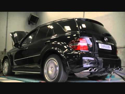 montage ligne d 39 chappement mercedes ml 63 amg exhaust. Black Bedroom Furniture Sets. Home Design Ideas