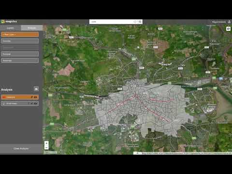 Ireland, Cork Streets, Population, Profiling, Influence Areas