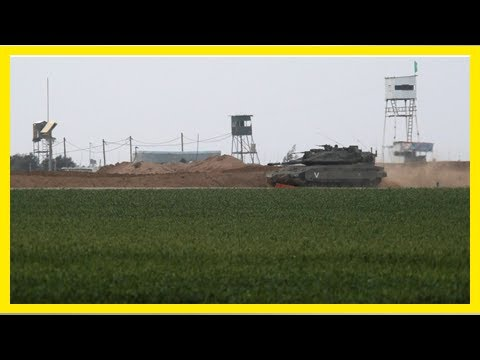 Israeli military strikes Hamas post in southern Gaza after shots fired at soldiers