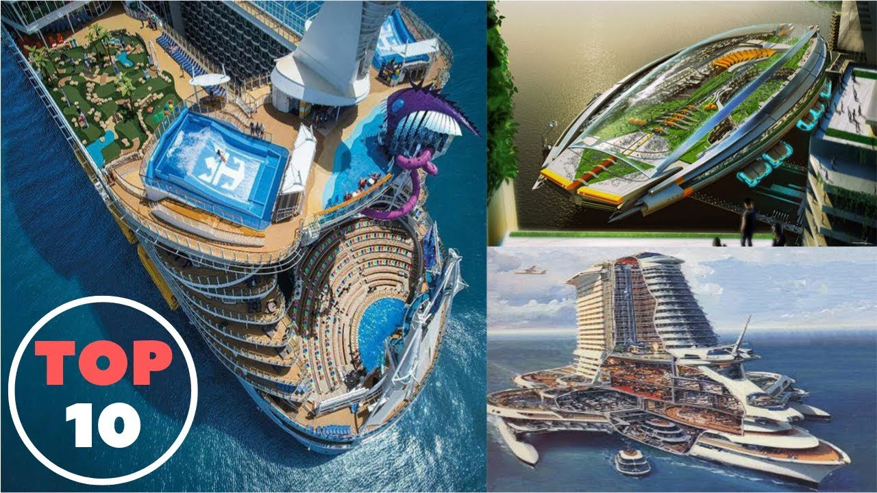 Top 10 Largest Cruise Ship In The World Of 2019 - YouTube