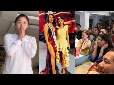 Pinoy Celebrities react to Catriona Gray's win at Miss Universe 2018