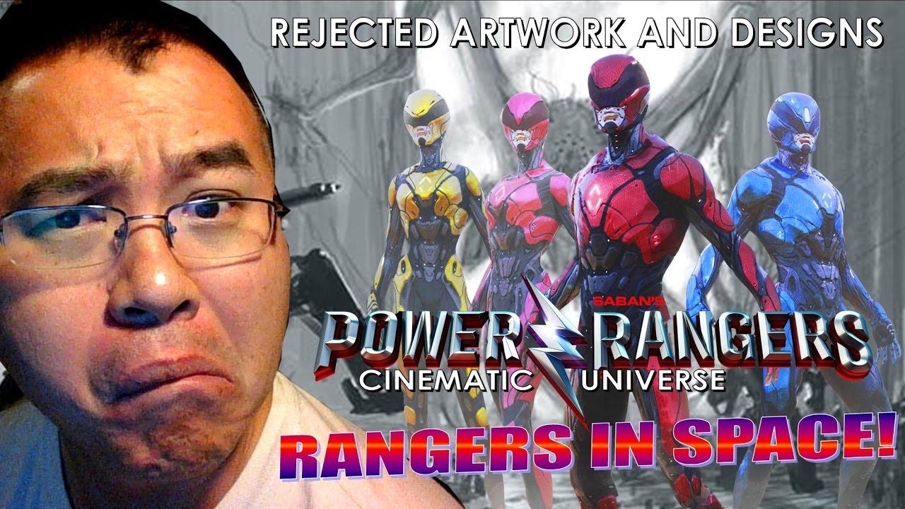 Rangers in Space? Power Rangers Movie Rejected Designs ...