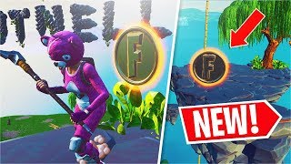 COLLECT COINS IN FEATURED CREATIVE ISLANDS! (Fortnite Overtime Challenges)