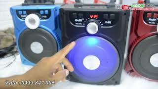 Loa kẹo kéo mini - Loa karaoke mini P88   Giá 345k (Miễn phí vận chuyển)