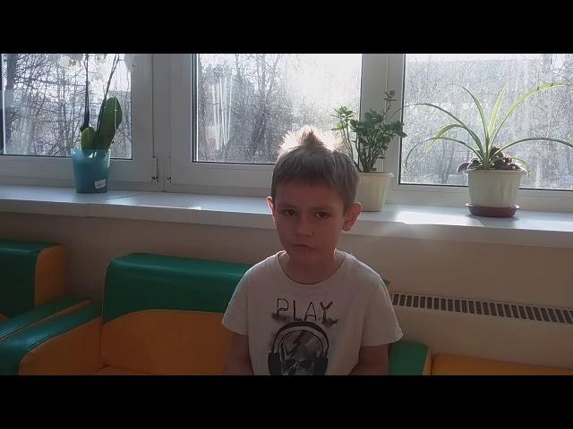 Изображение предпросмотра прочтения – АндрейЗеменков читает отрывок изпроизведения «Что такое хорошо и что такое плохо» В.В.Маяковского