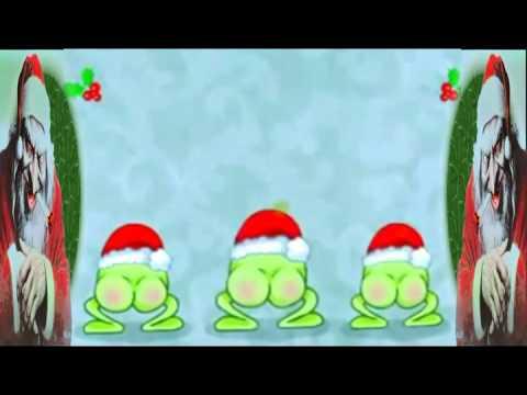 Żaby życzą Wesołych Świąt