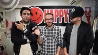 Happy FM entrevista a Cali y el Dandee