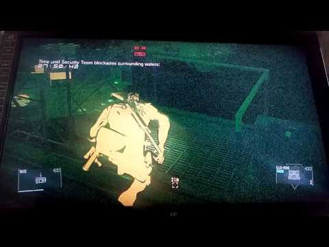 "Low Grade Weapon Defense : Intruder : x7-7-7x- : ""Double KO !"" (mgsv ps3)"