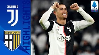 Juventus 2-1 Parma | CR7 Brace Sends Juve 4 Points Clear | Serie A