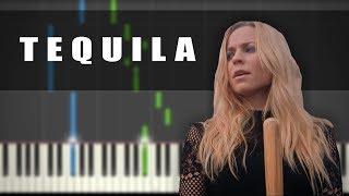 Vesala - Tequila   PIANO TUTORIAL
