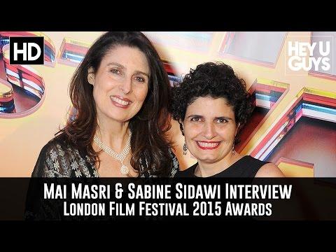 Mai Masri & Sabine Sidawi Interview - London Film Festival 2015 Awards