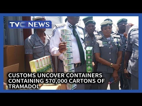Apapa Customs Uncovers Container Containing 570,000 Cartons Of Tramadol