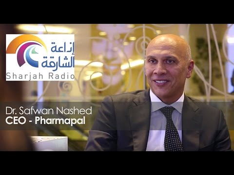 Dr. Safwan Nashed (CEO Pharmapal) Interview with Sharjah Radio