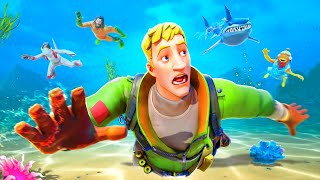 ESCAPE the Underwater INFECTED in Fortnite