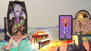 Grave Danger (1995) Vintage Board Game Review/Commercial