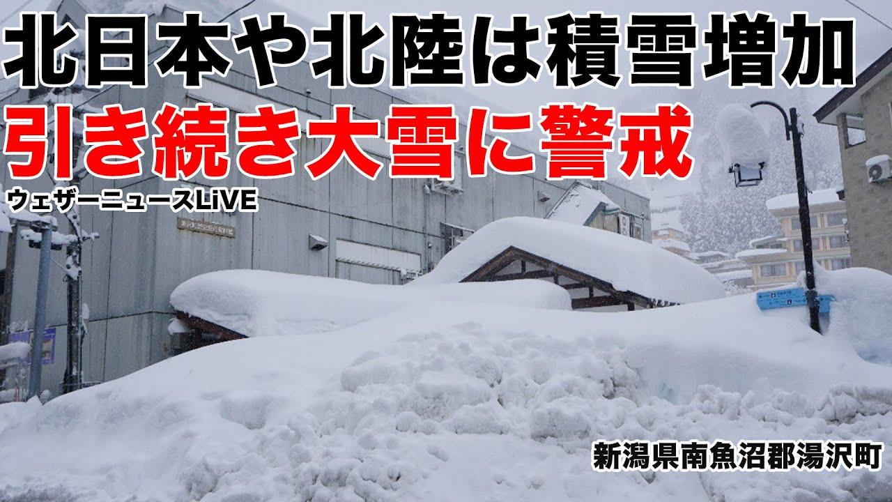 情報 雪 新潟 県 新潟県 2020/21年冬期