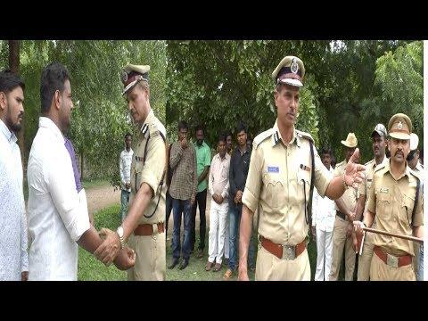 Bijapur Me Rowdyion Per IGP Ka Shikanja...! Bijapur news 29-08-2018