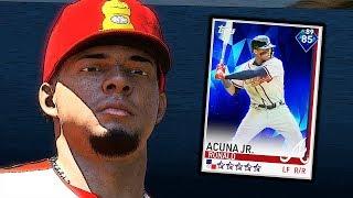 DIAMOND RONALD ACUNA JR DEBUT! MLB THE SHOW 19 DIAMOND DYNASTY