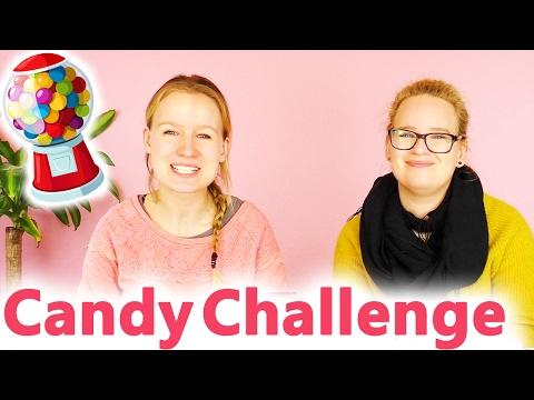 EKLIGE CANDY CHALLENGE! DIY Inspiration | Ritter Sport Haribo Jelly Beans Augen | Eva vs. Kathi