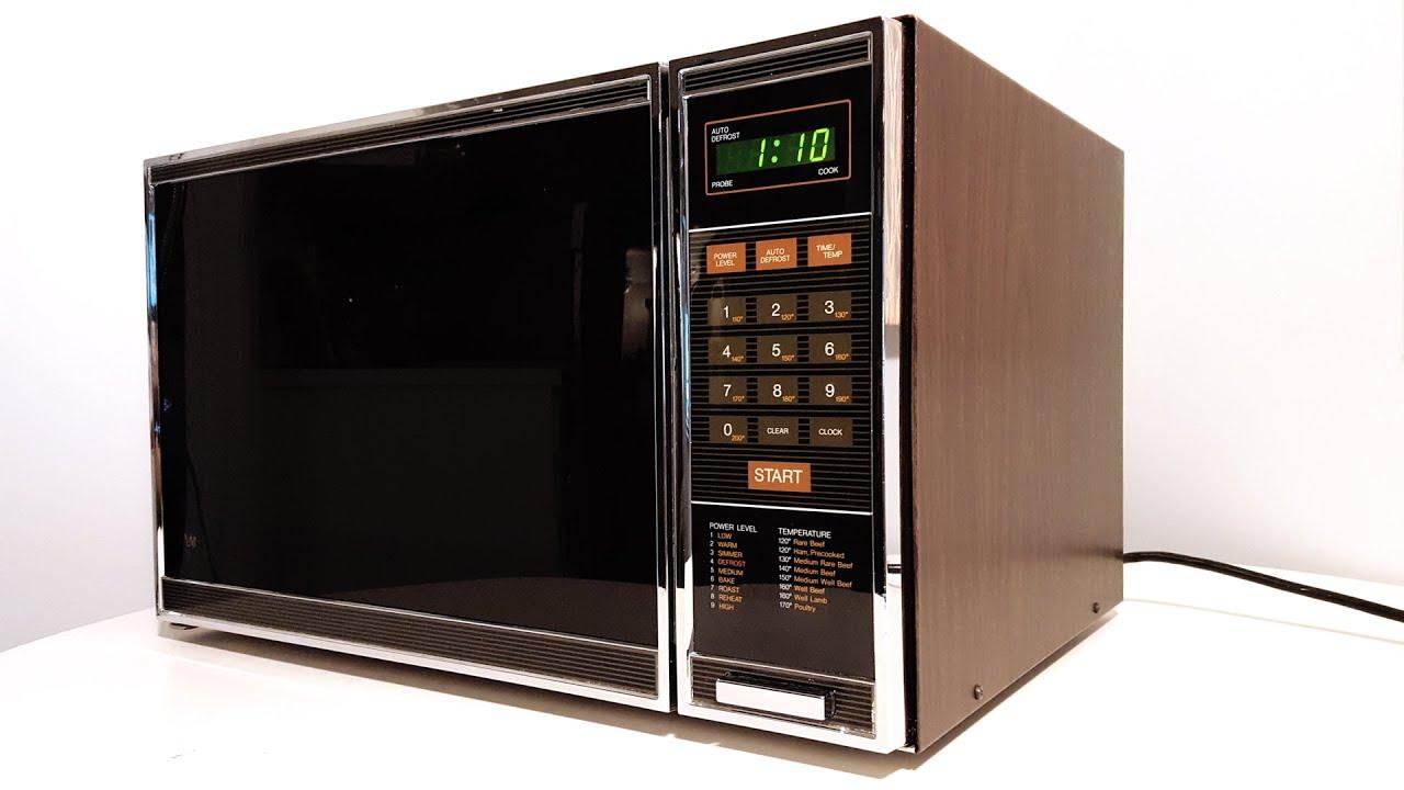 1981 roper vintage microwave oven youtube