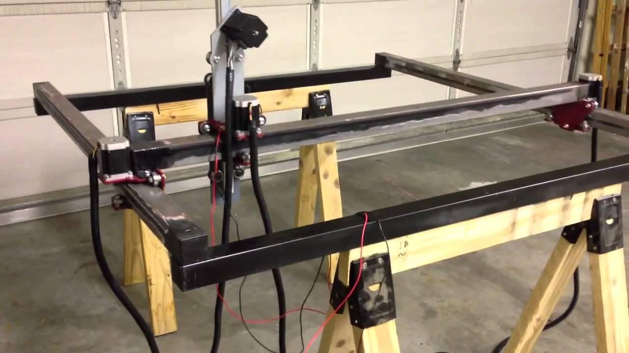 DIY homebuilt CNC Plasma - YouTube