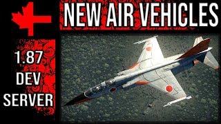 War Thunder Dev Server - Update 1.87 - New Air Vehicles