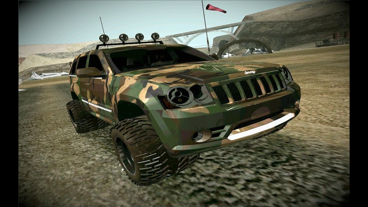 2012 Jeep Grand Cherokee Srt8 Camo Gta San Andreas Car Mod