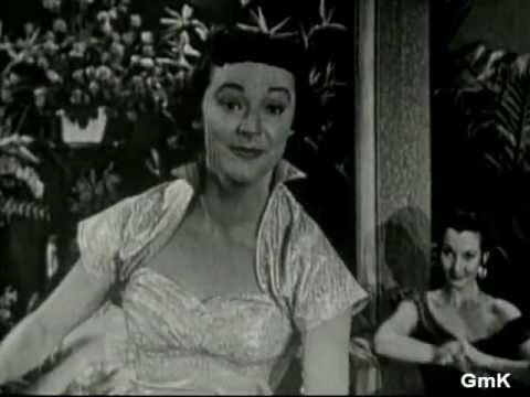 GISELE MacKENZIE sings her 1953 Capitol hit Don't Let the Stars Get in Your Eyes