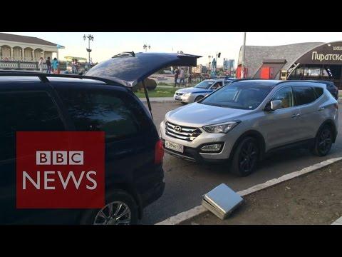 BBC team attacked in Russia - BBC News