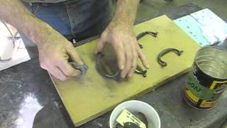 Replacing Missing Brass Hardware - Thomas Johnson Antique Furniture Restoration