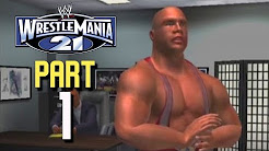 WrestleMania 21 (XBOX) - Career Mode - 1
