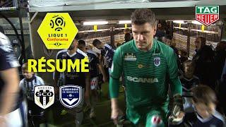 Angers SCO - Girondins de Bordeaux ( 1-2 ) - Résumé - (SCO - GdB) / 2018-19
