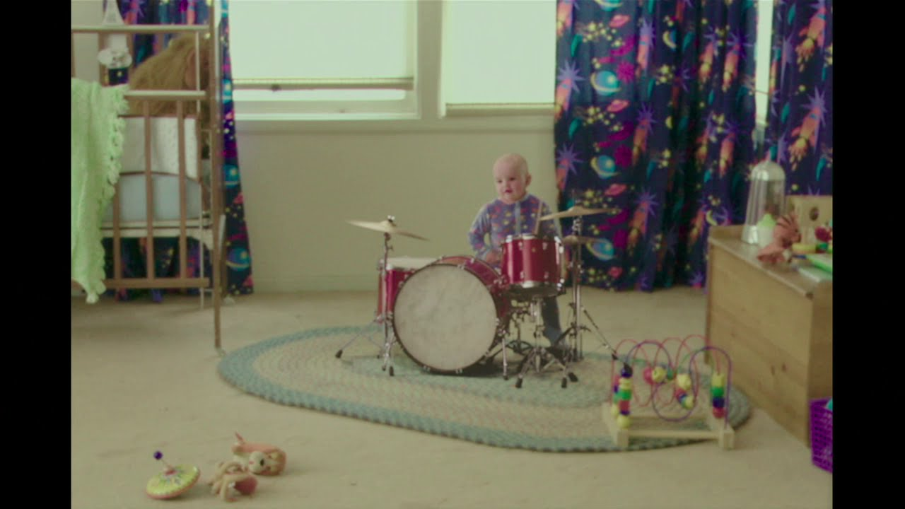 The baby playing drums in Popstar: Never Stop Never Stopping is Wylie, Director Taccon's son.
