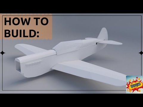 How To BUILD THE FT P-40 WARHAWK RC PLANE | BUILD (PART 1)