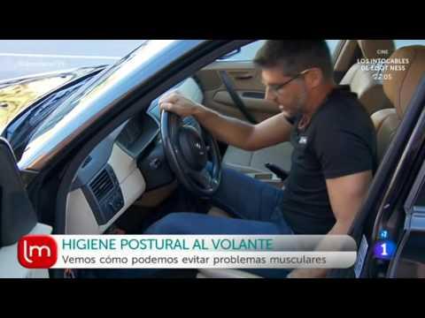POSTURA AL VOLANTE: