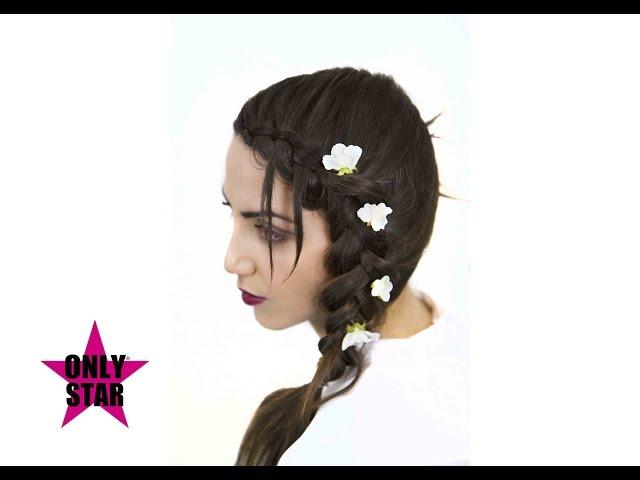 Nuove acconciature sposa  2017 tutorial - new wedding hairstyle - Peinado boda novia. Tutorial N°2