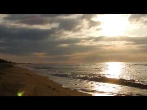 Ocean Sounds , Ocean Waves Sea Waves , Stunning Sunrise on the Beach