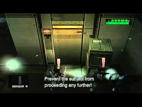 Metal Gear Solid: HD Collection- MGS2 Sons Of Liberty Part 7