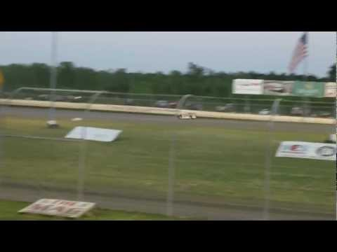 Klint Byars Qualifying at Magnolia Motor Speedway 2012 Spring Throwdown
