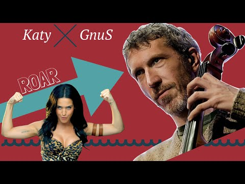 Katy Perry - Roar (GnuS cello cover) Instrumental/karaoke