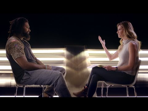 Erin Andrews and Cameron Jordan New Orleans Saints