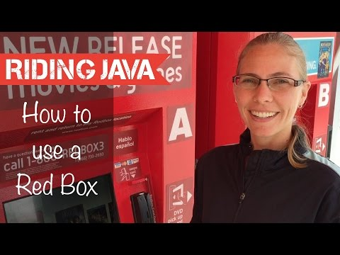 How to rent DVDs from RedBox in America