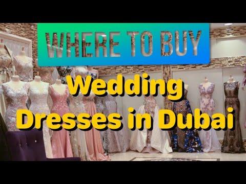 Dubai bridal and party dresses place