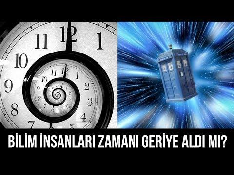 Bilim insanları zamanı