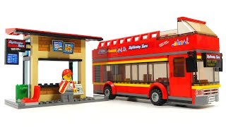Lego City 60200 Capital City - Sigtseeing bus and Cafe