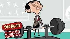 Herr bean geht ins fitnessstudio | Ganze Folgen | Mr Bean Deutschland