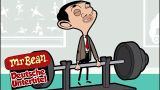 Mr. Bean geht ins Fitnessstudio
