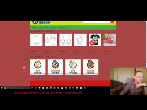 eCom Pages Review Demo and Bonus by Super Affiliate Jeff Lenney